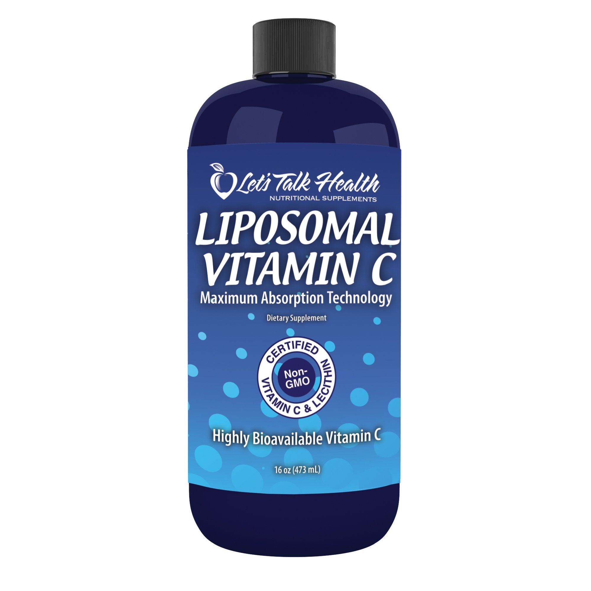 Let's Talk Health Liposomal Vitamin C - 100% Certified Non-GMO & Superior Absorption of Vitamin C (16oz) by Let's Talk Health (Image #1)
