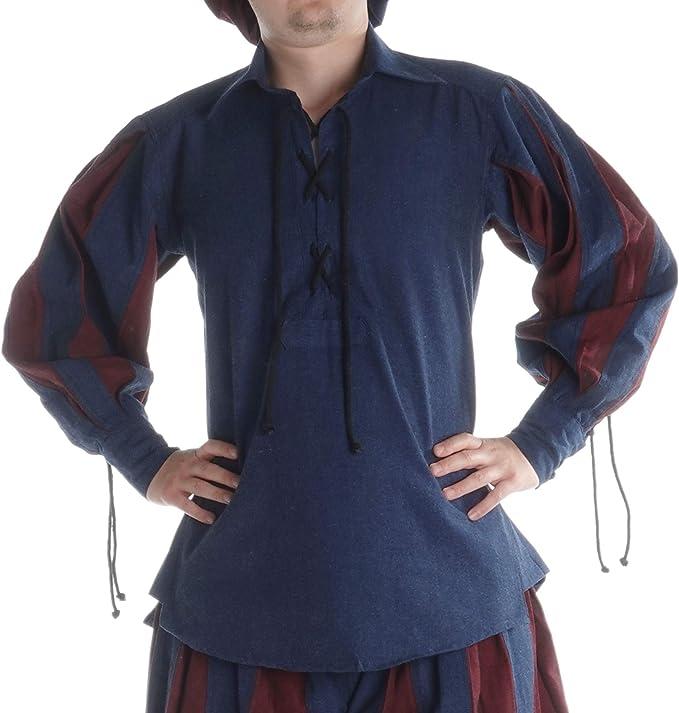 HEMAD - Camisa para hombre con cuello (tallas S - XXXL): Amazon.es: Ropa y accesorios