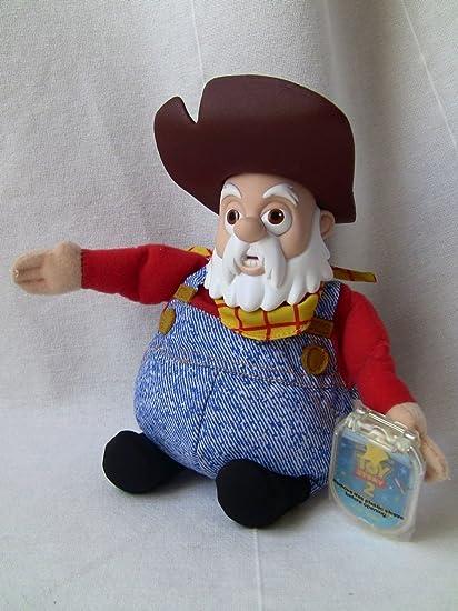 Amazoncom Disneys Toy Story 2 Prospector Stinky Pete 9 Star Bean