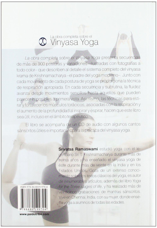 OBRA COMPLETA SOBRE EL VINYASA YOGA, LA (Libro+CD - Color ...