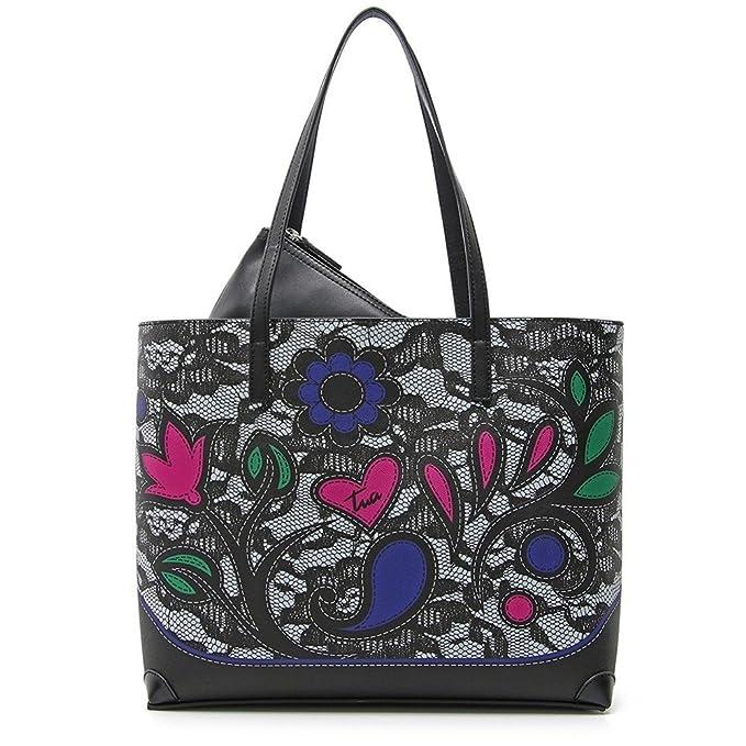 Borsa Braccialini B11600 Fantasy Lace  Amazon.it  Abbigliamento 1fa6f69dd6a