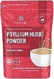 Psyllium Husk Powder 16oz - 1 lb, Finely Ground Powder for Baking Keto Bread (High Fiber) Gluten-Free, Vegan, Non-GMO