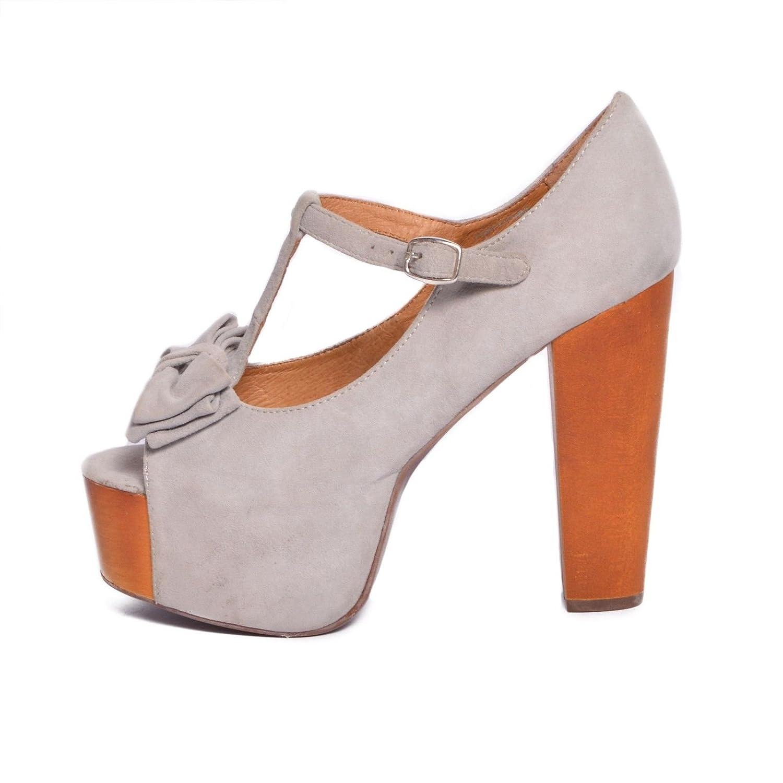 Jeffrey Campbell - Zapatos de vestir de tela para mujer multicolor rosa 36 multicolor Size: 39 glpEJk
