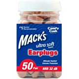 Mack's Ear Care Ultra Soft Foam Earplugs, 50 Pair