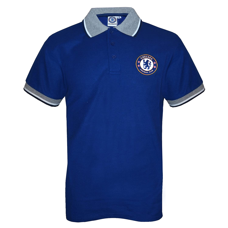 Chelsea FC C, Royal para hombre Polo de manga corta Diseño de ...