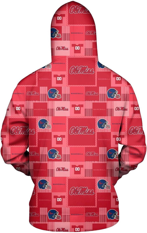 TYUING 3D Printed Mens Hoodie Streetwear Classic College Camouflage Long Sleeve Hoody Sweatshirts