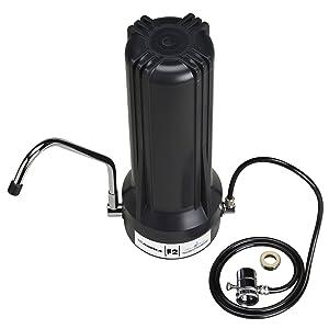 Home Master TMJRF2-BKJr F2 Sinktop Water Filtration System, Black