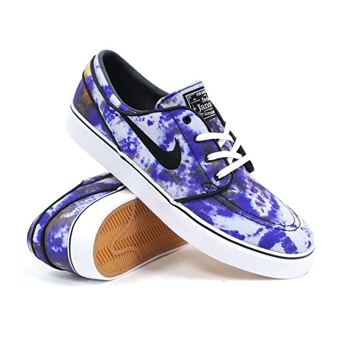 Amazon.com: Nike SB Zoom Stefan Janoski Premium QS (White/BlackDeep Royal Blue) Men's Skate Shoe13: Shoes
