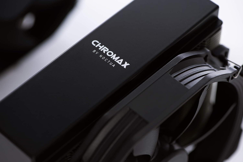 noctua NA-HC6 chromax.Black Black for NH-U14S, NH-U14S TR4-SP3 and NH-U14S DX-3647 Heatsink Cover