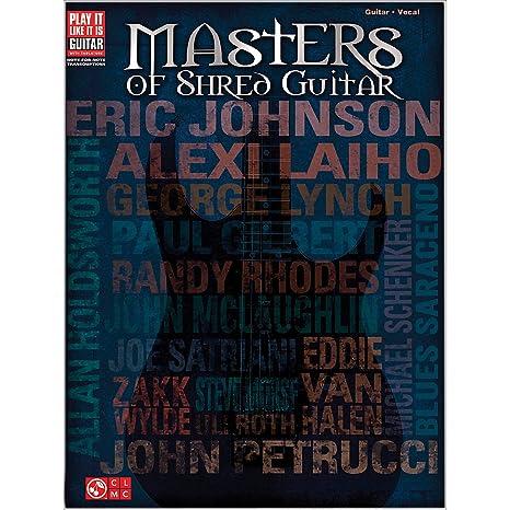 Masters Of Shred Guitar. Partituras para Tablatura de Guitarra ...