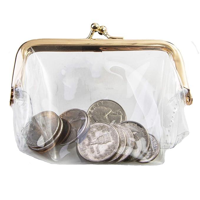 Amazon.com: easycomforts cartera de plástico transparente ...