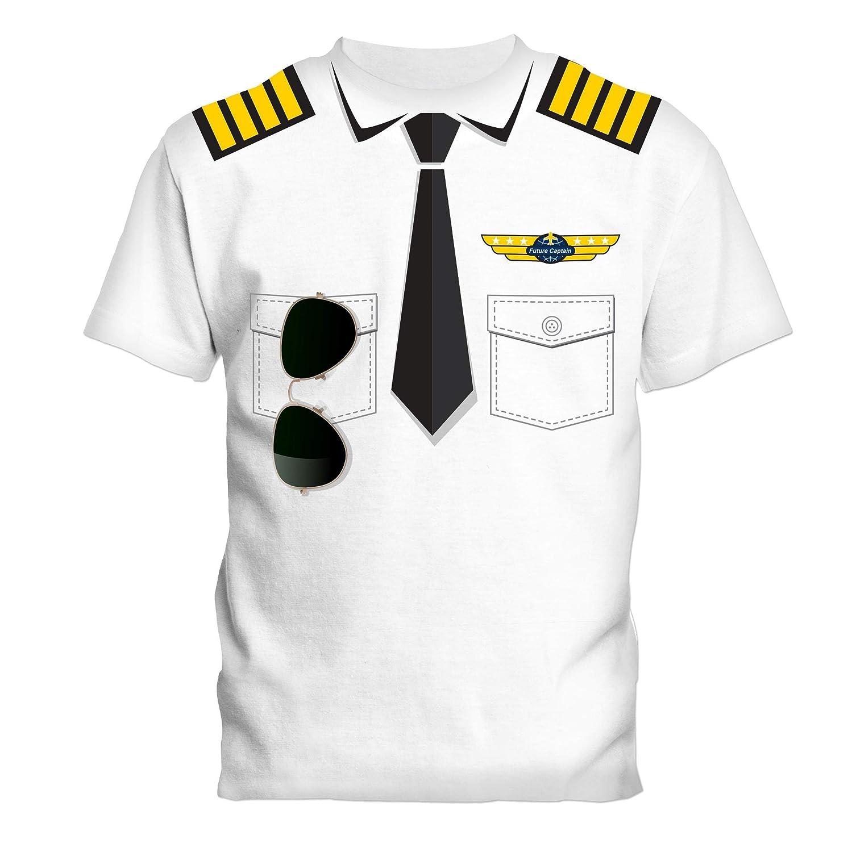 SOCATEC- Camiseta blanca piloto 100% algodón, 180 g, talla 4 años ...
