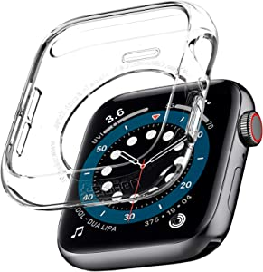Spigen Liquid Crystal Designed for Apple Watch Case for 44mm Series 6/SE/5/4 - Crystal Clear