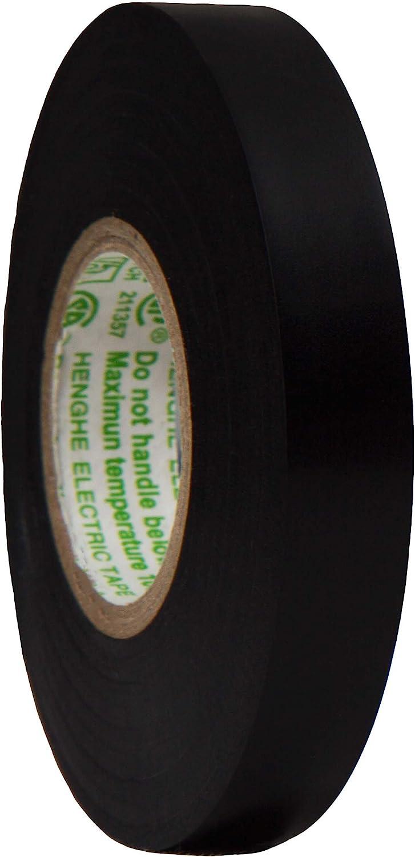 Spro Cinta adhesiva para mango de raqueta de tenis, squash o bádminton, rollo de 12 mm x 20 m, negro