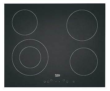 meilleure sélection b6d4c 2754c Beko - HIC64401 - Table de cuisson encastrable - 6800 W - 4 foyers