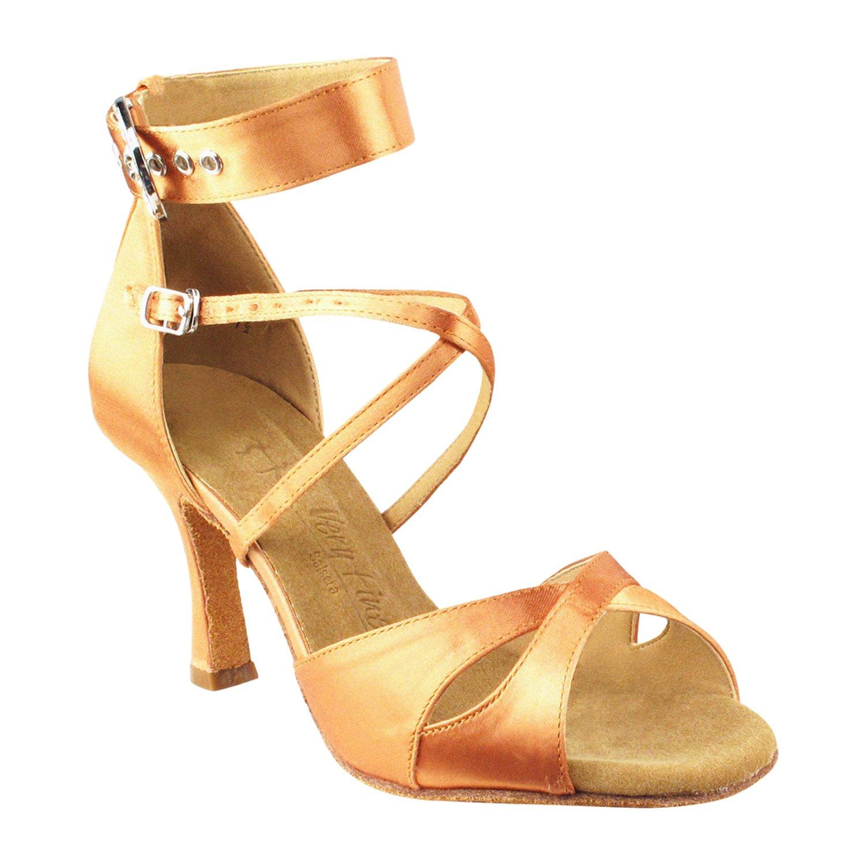 50%OFF [Gold Shoes] Pigeon Shoes] レディース B075KKYD4R Tan Heel 3