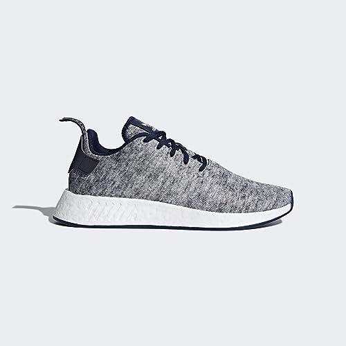 Adidas NMD R2 Uas, Zapatillas de Deporte para Hombre, Gris (Brebas/Plamat / Ftwbla 000), 46 EU: Amazon.es: Zapatos y complementos