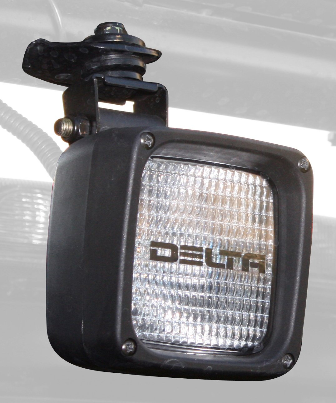 Delta Lights (01-2959-50X) 290H Series 4' Square Waterproof Xenon Work/Flood/Back-up Lights - Pair