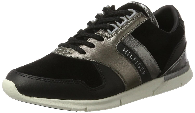 Tommy Hilfiger S1285kye 1c1, Zapatillas para Mujer 37 EU|Negro (Black)