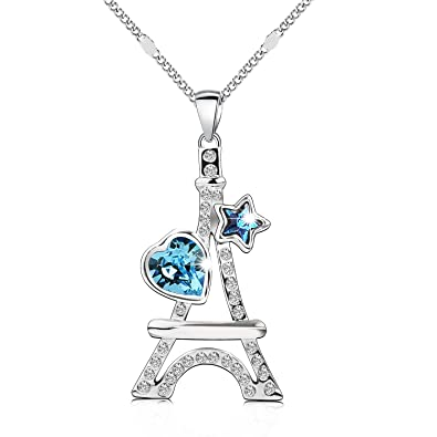 Amazon pealrich swarovski necklace for mom eiffel tower pealrich swarovski necklace for mom eiffel tower pendant jewelry with swarovski crystals birthday mothers day aloadofball Image collections