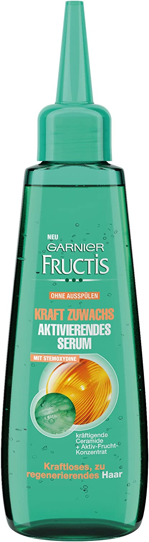 Garnier Fructis ganancias de fuerza Activación de Suero/acondicionador para el cabello sin vida, debilitado (con ceramidas y Concentrado Activo de Frutas - paraben - sin enjuagar) Paquete 1er - 80ml
