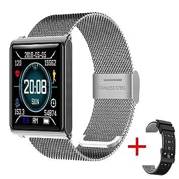 N98 montre connectée Bracelet intelligente Etape imperméable Comptant la fréquence cardiaque Surveillance Bracelet de sport en