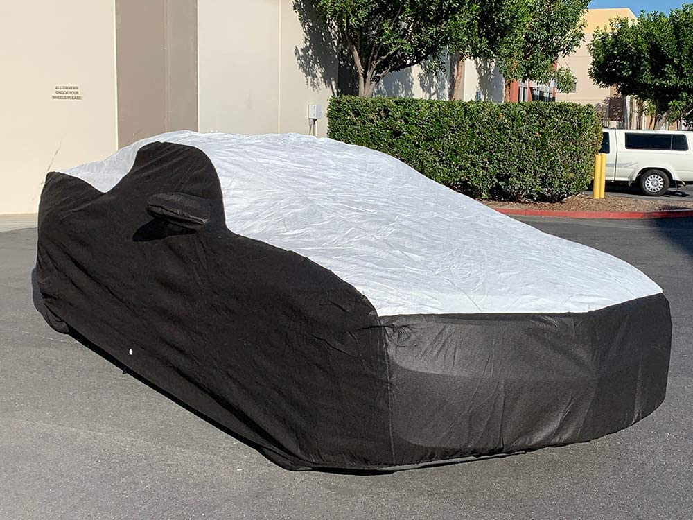 Tuxcover Custom Fit 2010-2020 Chevy Camaro Coupe LS LT Car Cover All Weatherproof Multi Tyvek Covers
