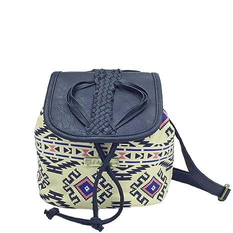 c4ac678e57 Amoyie Borse a tracolla in tela e pelle borsa secchiello donna piccola  borse messenger ragazza borse