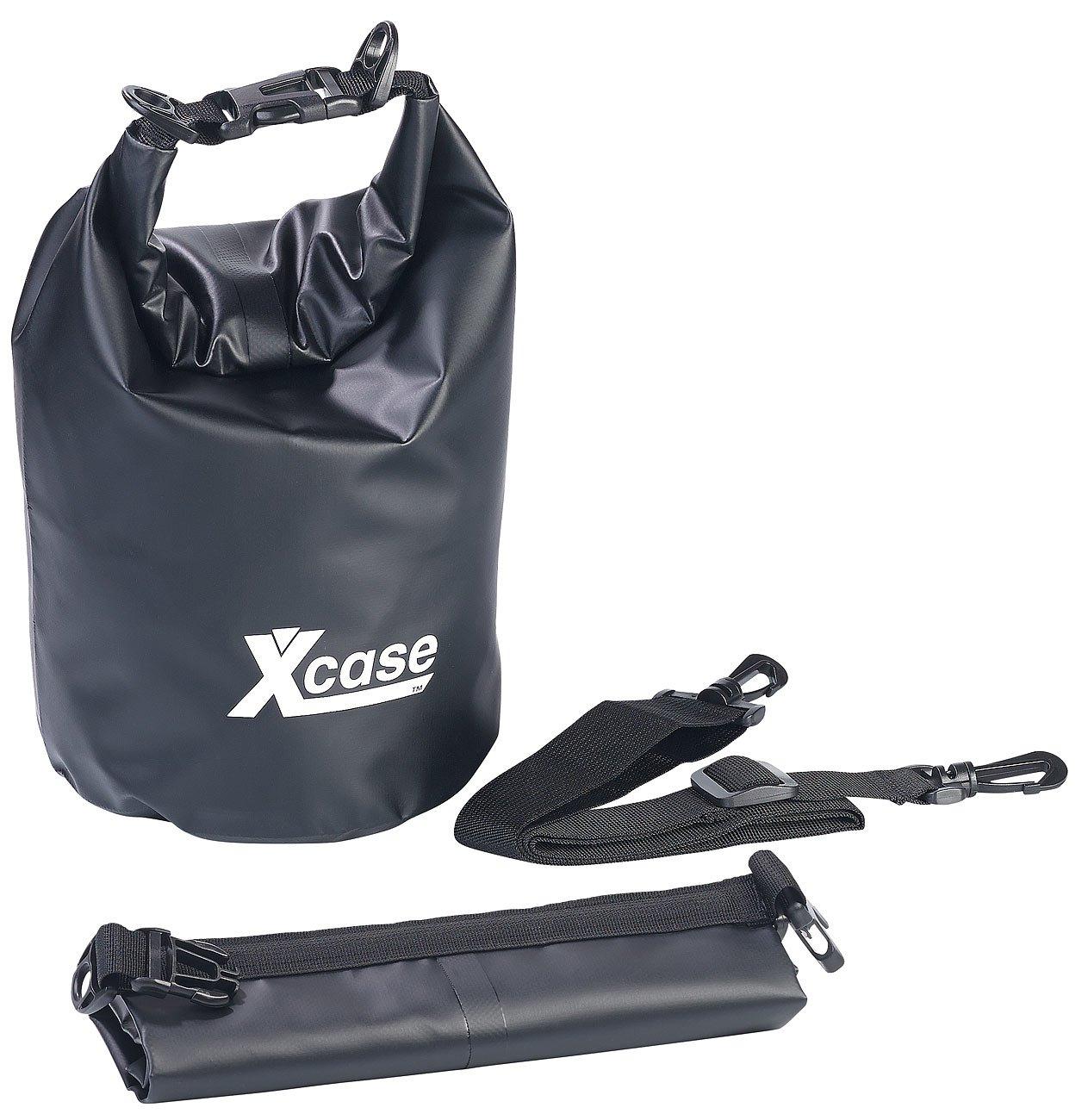 XCase Sac de étanches: étanche Pack de strapazierfähige Industrie de bâche, 5l, noir (Sac de marin)