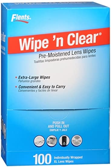 Flents Wipe N Clear Premoistened Tissues #F414-210 100 Each (Pack of