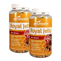 GoodHealth Royal Jelly 10-HDA 365 Capsules Targets low energy Supports skin health...