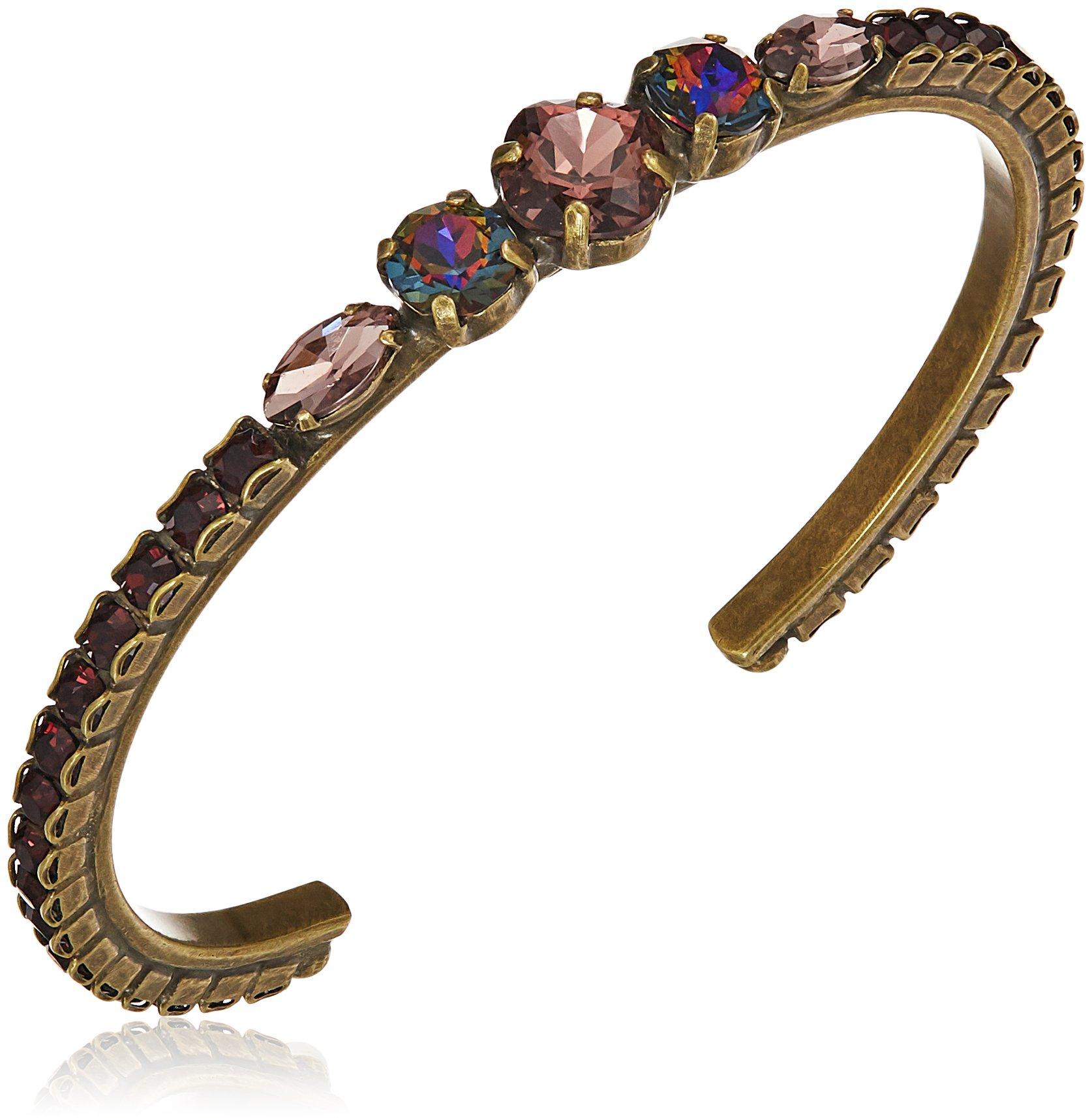 Sorrelli Mahogany Hyacinth Cuff Bracelet
