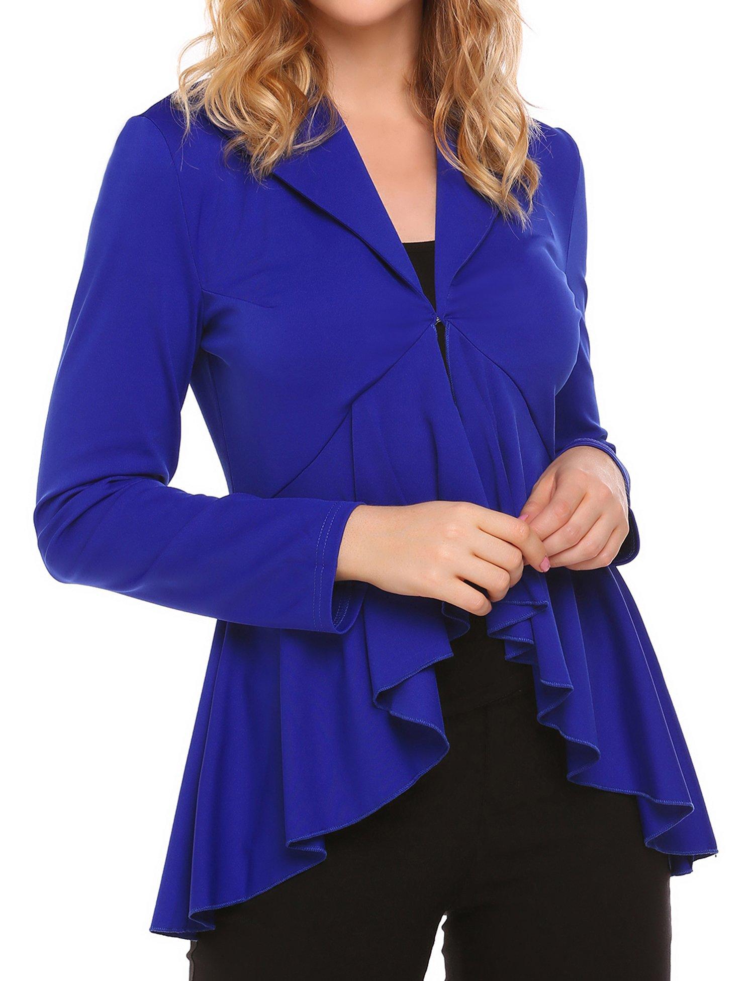 Women's Lightweight Blazer, Unibelle Womens Light Weight Cardigans Long Sleeve Coat for Women Tops Outwear