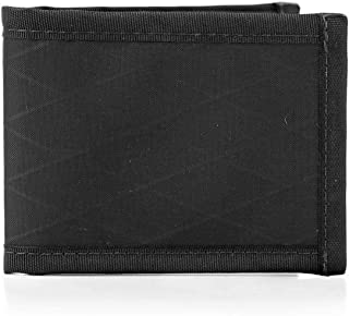 product image for Flowfold RFID Blocking Vanguard Bifold Wallet Durable Slim Wallet Front Pocket Wallet, Bifold Wallet Made in USA (Jet Black)
