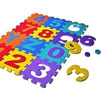 happygirr Alfombra Puzzle Infantil para Niños Alfombra