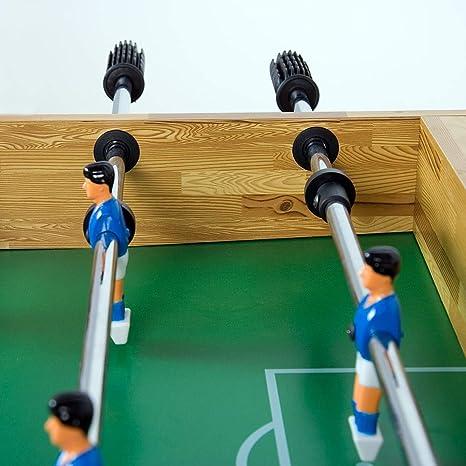 Maxstore Futbolín de Mesa Glasgow con Juego de Accesorios, 2 ...