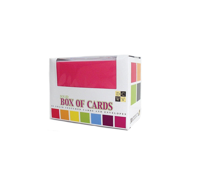カード & 封筒盛り合わせ固体 A2 のボックス サイズを 50/Pkg B001K7KJPI