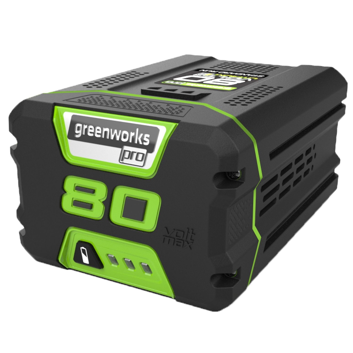 GreenWorks GBA80200 80V 2.0AH Lithium Ion Battery by Greenworks