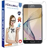 CELLBELL® Tempered Glass Screen Protector For Samsung Galaxy J7 Prime With FREE Installation Kit