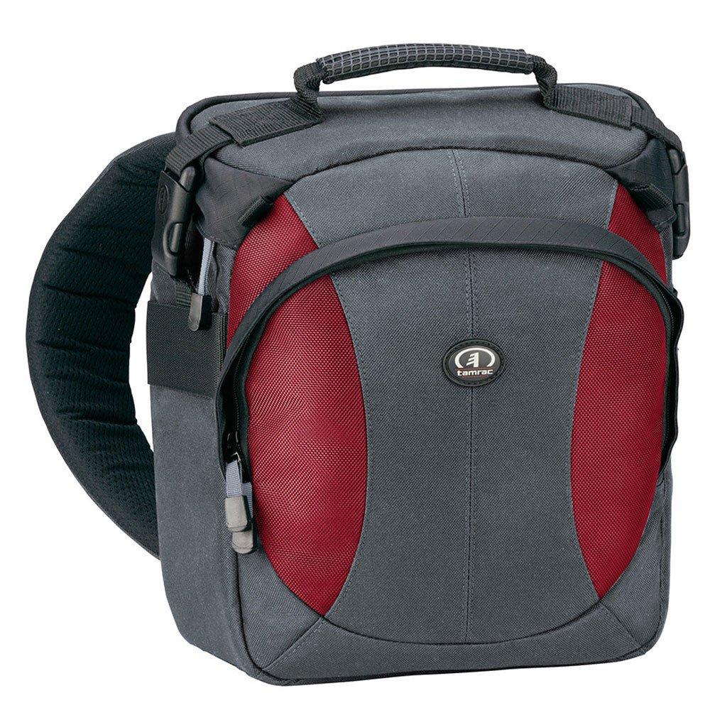 Amazon.com : Tamrac Velocity 6z Compact Sling Pack - Gray/Burgundy ...