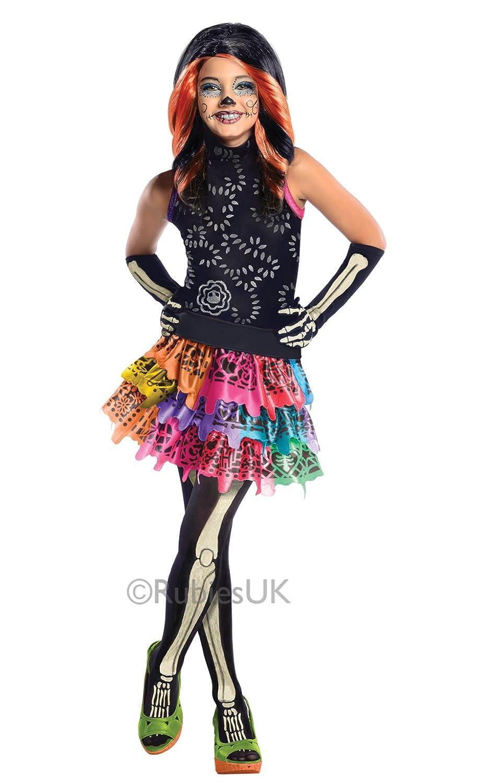 Rubie`s - Disfraz infantil de Skelita Calaveras (886700-S): Amazon.es: Juguetes y juegos
