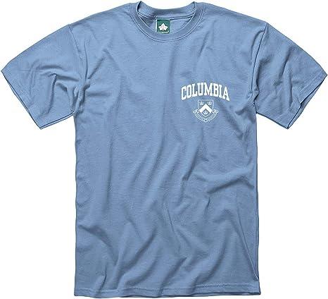 Premium All-Cotton Ivysport Short-Sleeve T-Shirt Scholar Logo on Left Chest