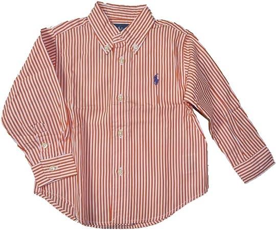 Ralph Lauren Niños bebé niño manga larga camisa Polo Jinete ...