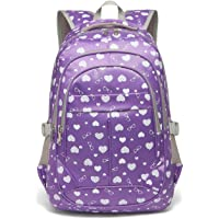 Sweethearts Girls Bookbags for Elementary School Bags Backpacks for Kids Children(Purple)