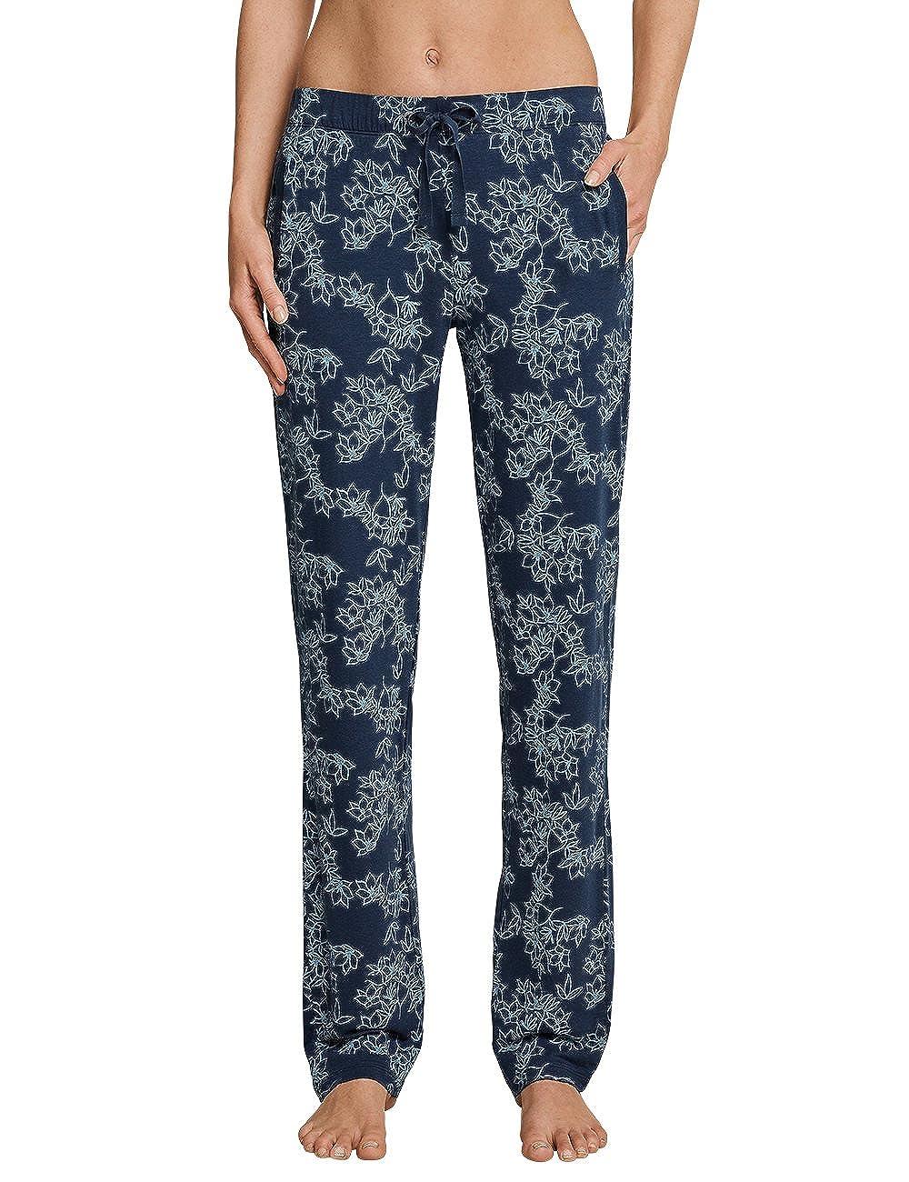 TALLA 36. Schiesser Mix & Relax Jerseyhose Lang, Pantalones de Pijama para Mujer
