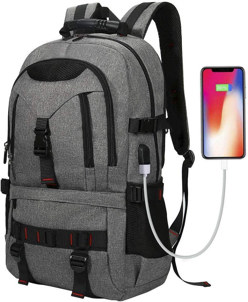 XYDE Travel Laptop Backpack Large Capacity Children School Backpack Business Ddurable Water ResistantKoi Carps Red Sacura College Laptop iPad Tablet Bag for Men and Women