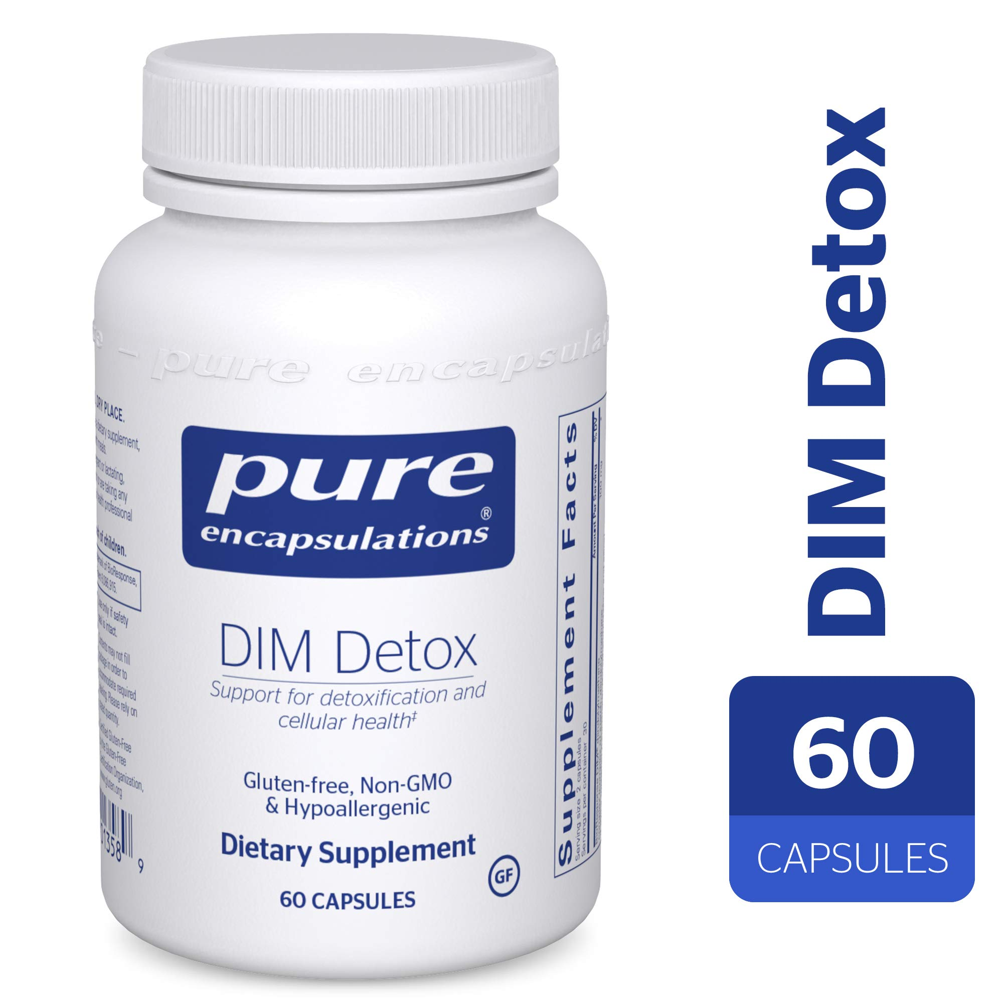 Pure Encapsulations - DIM Detox - Supplement Support for Detoxification and Cellular Health* - 60 Capsules
