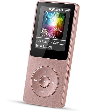 AGPTEK MP3 Player 8 GB Verlustfrei Mit 18 Zoll Bildschirm 70 Stunden Wiedergabezeit