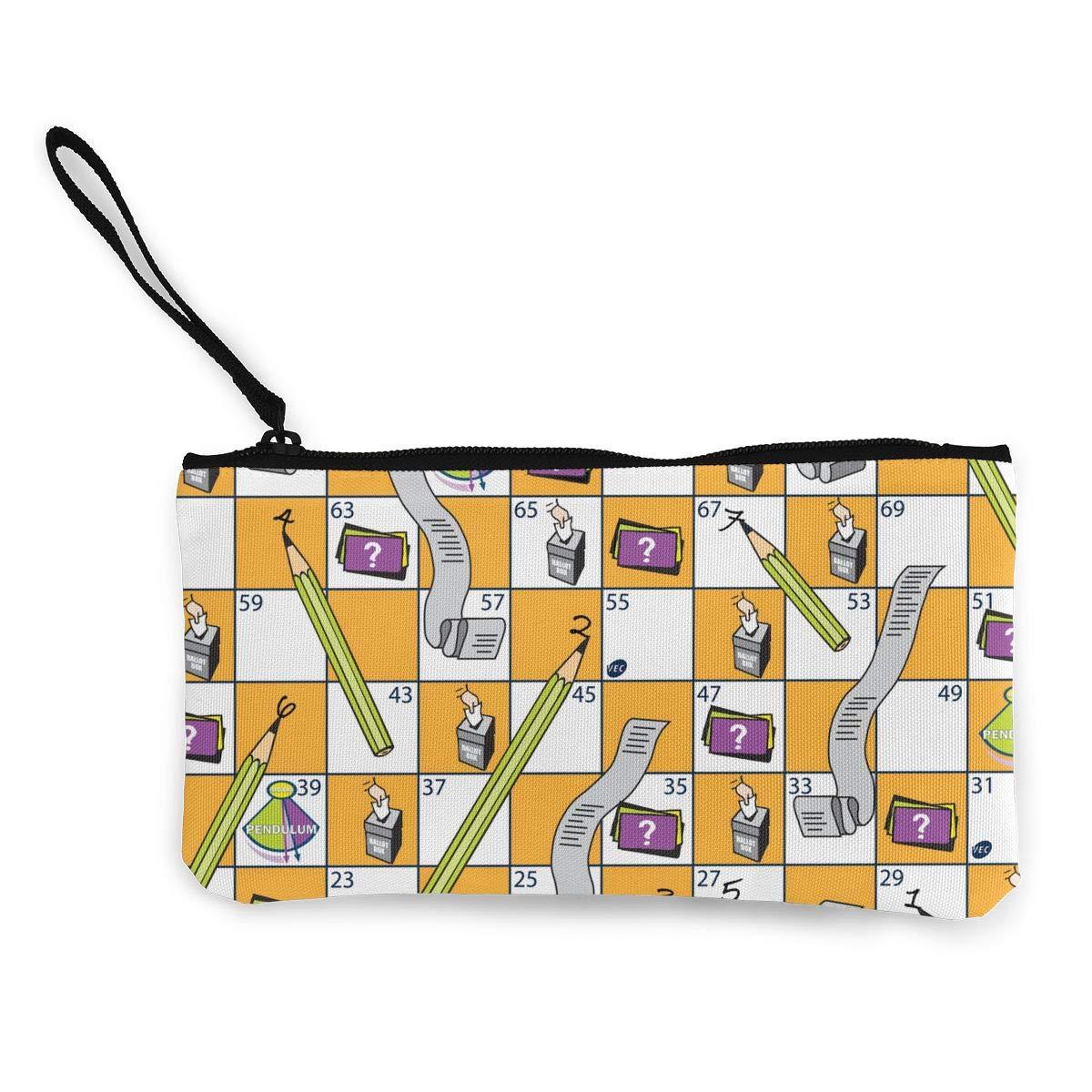 小銭入れ 小さい キュート 亀 レディース ジッパー キャンバス 財布 変更 カスタマイズバッグ 4.5
