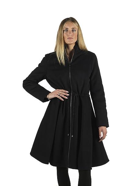 Cappotto in panno donna